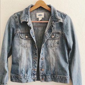 Old Navy Blue Jean Denim Jacket Size Small